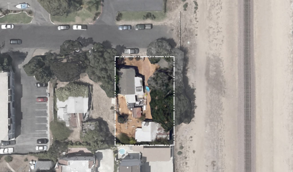 aerial w property line